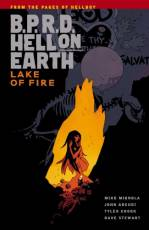 Couverture de l'album B.P.R.D. HELL ON EARTH Tome #8 Lake on fire
