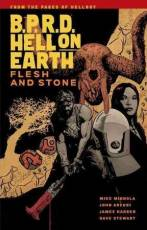 Couverture de l'album B.P.R.D. HELL ON EARTH Tome #11 Flesh and Stone