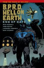 Couverture de l'album B.P.R.D. HELL ON EARTH Tome #13 End of Days