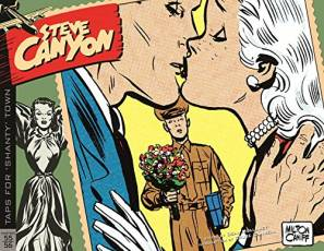 "Couverture de l'album STEVE CANYON Tome #5 1955 - 1956: Taps for ""Shanty"" Town"