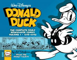 Couverture de l'album WALT DISNEY'S DONALD DUCK: THE DAILY NEWSPAPER COMICS Tome #1 1938 - 1940