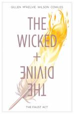 Couverture de l'album VO THE WICKED AND THE DIVINE Tome #1 The faust Act
