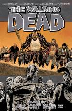 Couverture de l'album VO THE WALKING DEAD Tome #21 All Out War part two