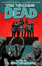 Couverture de l'album THE WALKING DEAD (VO) Tome #22 A New Beginning