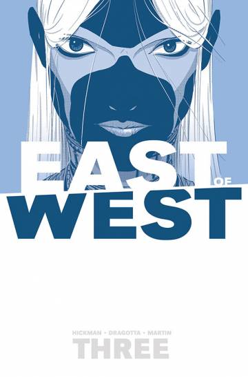 Couverture de l'album EAST OF WEST Tome #3 There is no us
