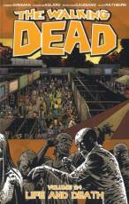 Couverture de l'album THE WALKING DEAD (VO) Tome #24 Life and Death