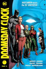 Couverture de l'album DOOMSDAY CLOCK Tome #2 Part 2