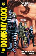 Couverture de l'album DOOMSDAY CLOCK Tome #1 Part 1