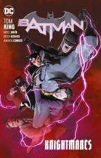 Couverture de l'album  BATMAN Tome #10 Knightmares