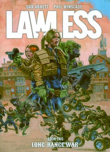 Couverture de l'album LAWLESS Tome #2 Long-range war