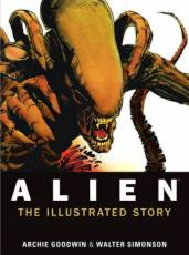 Couverture de l'album ALIEN The illustrated story