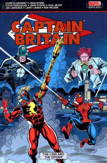 Couverture de l'album CAPTAIN BRITAIN Tome #3 The lion and the spider