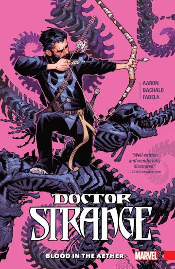 Couverture de l'album DOCTOR STRANGE Tome #3 Blood of the Aether