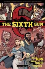 Couverture de l'album THE SIXTH GUN Tome #3 Bound