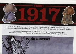 Couverture de l'album 1914-1919 Tome #4 Journal de guerre - 1917