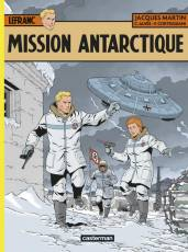 Couverture de l'album LEFRANC Tome #26 Mission Antarctique