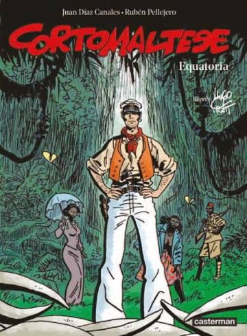 Couverture de l'album CORTO MALTESE Tome #14 Equatoria - Edition couleurs
