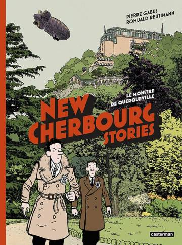 Couverture de l'album ALBUM NEW CHERBOURG STORIES Tome #1 Le monstre de Querqueville