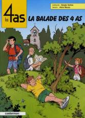 Couverture de l'album LES 4 AS Tome #43 La balade des 4 As