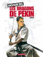 Couverture de l'album INSIDERS Tome #7 Les dragons de Pékin