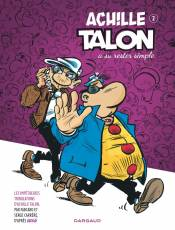 Couverture de l'album IMPETUEUSES TRIBULATIONS D'ACHILLE TALON (LES) Tome #2 Achille Talon a su rester simple