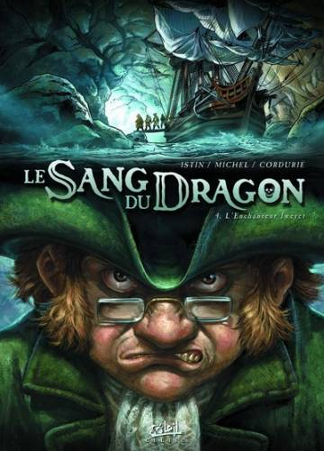 Couverture de l'album LE SANG DU DRAGON Tome #4 L'enchanteur Iweret