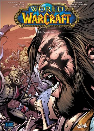 Couverture de l'album WORLD OF WARCRAFT Tome #12 Armageddon