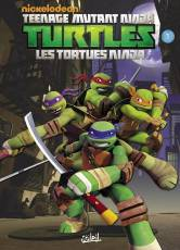 Couverture de l'album TEENAGE MUTANT NINJA TURTLES Tome #1 Premiers pas