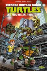 Couverture de l'album TEENAGE MUTANT NINJA TURTLES : LES NOUVELLES AVENTURES Tome #2 Tome 2