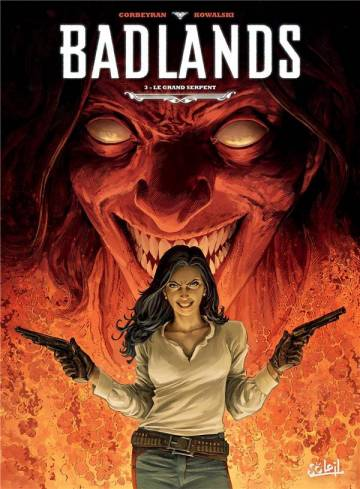 Couverture de l'album BADLANDS Tome #3 Le Grand Serpent