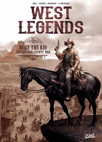 Couverture de l'album WEST LEGENDS Tome #2 Billy the Kid, the Lincoln County War