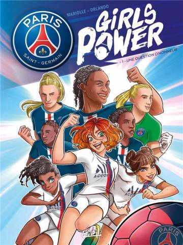 Couverture de l'album PARIS SAINT-GERMAIN - GIRLS POWER Tome #1 Une question d'honneur