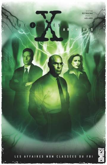 Couverture de l'album THE X-FILES ARCHIVES Tome #2 Les affaires non classées du FBI - Volume 2