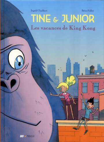 Couverture de l'album TINE & JUNIOR Tome #1 Les vacances de King Kong