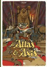 Couverture de l'album LA SAGA D'ATLAS ET AXIS Tome #3 Volume 3