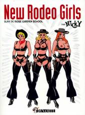 Couverture de l'album NEW RODEO GIRLS Suivi de Rose Garden School