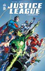 Couverture de l'album VF JUSTICE LEAGUE Tome #1 Aux origines
