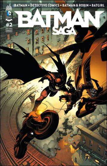 Couverture de l'album BATMAN SAGA Tome #2 Volume 2