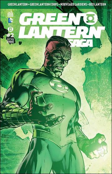 Couverture de l'album GREEN LANTERN SAGA Tome #2 Volume 2
