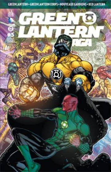 Couverture de l'album GREEN LANTERN SAGA Tome #3 Volume 3