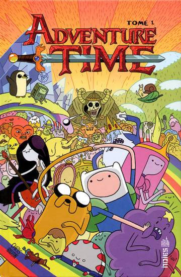Couverture de l'album ADVENTURE TIME Tome #1 Volume 1
