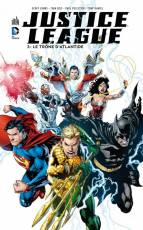 Couverture de l'album JUSTICE LEAGUE (VF) Tome #3 Le trone d'Atlantis