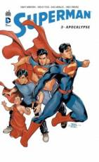 Couverture de l'album SUPERMAN, ACTION COMICS Tome #3 Apocalypse