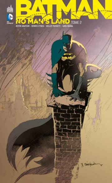 Couverture de l'album BATMAN Tome #2 No man's land  tome 2