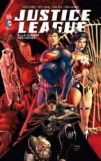 Couverture de l'album JUSTICE LEAGUE (VF) Tome #5 La Guerre des Ligues