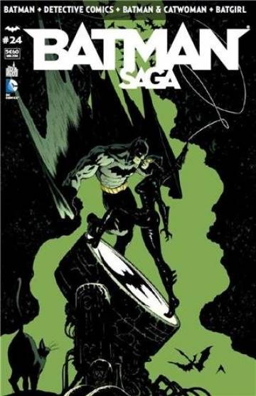 Couverture de l'album BATMAN SAGA Tome #24 Volume 24