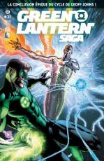Couverture de l'album GREEN LANTERN SAGA Tome #21 La conclusion épique du cycle de Geoff Johns
