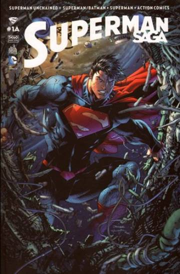 Couverture de l'album SUPERMAN SAGA Tome #1 Volume 1