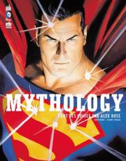 Couverture de l'album MYTHOLOGY L'art des comics par Alex Ross