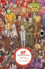 Couverture de l'album THE MANHATTAN PROJECTS Tome #1 Pseudo-Science